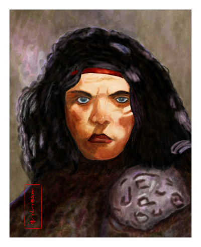 RHUMP - WOMAN WARRIOR OF OOG FROM THE PELLUCIDAR SAGA